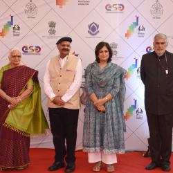 Hon'ble Governor of Goa , Chief Secretary of Goa with others during the opening ceremony.